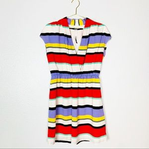 Kenzie | Short Sleeve Stripe Flowy Dress